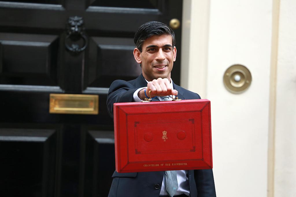 London,,United,Kingdom-march,11,,2020:,Rishi,Sunak,,Chancellor,Of,The